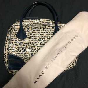 Marc by Marc Jacobs laminated handbag. Used.